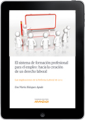 El sistema de formación profesional para el empleo: Hacia la creación de un derecho laboral(e-book)