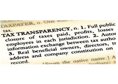 Tax transparency