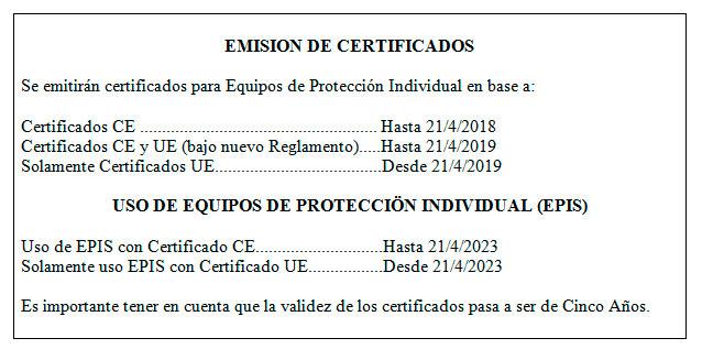 En síntesis, estos resultan ser los aspectos que se tienen que tener en  cuenta para adquirir y usar EPIS en este momento por parte de las empresas. c1285de33d