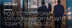 How to transform statutory reporting with today's technology