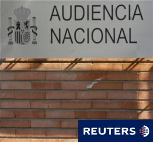 Imagen de archivo de la fachada de la Audiencia Nacional en el centro de Madrid, España, el 18 de abril de 2016.