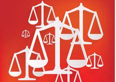 Balanzas de justicia