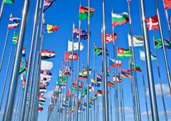 Banderas de diferentes países