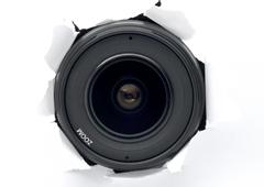 Una cámara oculta