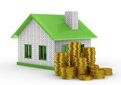 Casa y monedas