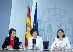 Magdalena Valero, Isabel Celáa y Reyes Maroto