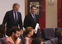 El ministro de Educación, Cultura y Deportes y portavoz del Gobierno, Íñigo Méndez de Vigo, al inicio de la rueda de prensa posterior al Consejo de Ministros.
