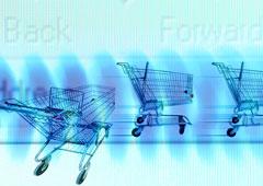 Concepto de comercio electrónico