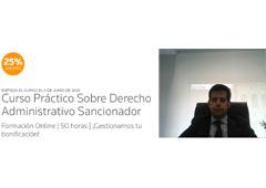 Antonio Benítez Ostos, fichado por Thomson Reuters para dirigir el curso práctico sobre Derecho Administrativo Sancionador