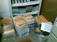 Documentos amontonados