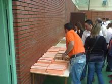 Papeletas preparadas para votar