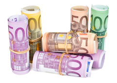 Rollos de euros