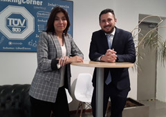 Fernando Soto y Beatriz Calleja