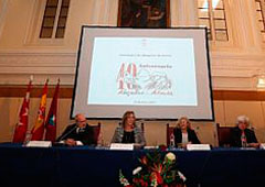 Sonia Gumper, Manuela Carmena, Francisca Sauquillo y Alejandro Ruiz-Huerta