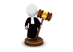 Muñequito de un juez