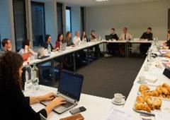 Seminario en Bruselas