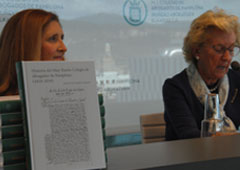 Blanca Ramon y Elisa Viscarret (autora de la obra)