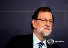 Rajoy asiste a la reunión de la ejecutiva del PP en Madrid, el 26 de septiembre de 2016