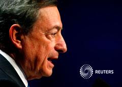 El presidente del Banco Central Europeo (BCE), Mario Draghi, habla en Fráncfort, Alemania, el 16 de noviembre de 2018