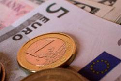 modedas y billetes de euro