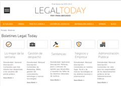 'Administración Pública' y 'Negocio y empresa', nuevos boletines de Legal Today
