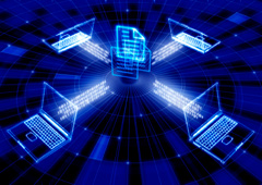 Ordenadores conectados a bases de datos