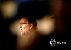 Rajoy ofrece una rueda de prensa tras reunirse con Sánchez en el Congreso en Madrid, el 2 de agosto de 2016