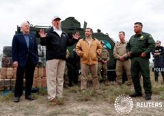Noticias Principales 11 de enero de 2019 / 8:42 / hace 5 horas Trump amenaza con declarar el estado de emergencia desde la frontera Por Jeff Mason y Richard Cowan 4 MIN. DE LECTURA MCALLEN, Texas/WASHINGTON (Reuters) - El presidente Donald Trump amenazó