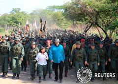 Foto de archivo. El presidente venezolano Nicolás Maduro visita un centro de entrenamiento militar en El Pao, Venezuela, 4 de mayo, 2019. Palacio de Miraflores/Handout