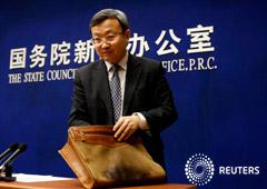 Noticias de Negocios 24 de junio de 2019 / 9:36 / hace una hora China dice que en la negociación comercial con EEUU ambos deben hacer concesiones Por Kevin Yao y Ben Blanchard 2 MIN. DE LECTURA Wang Shouwen, viceministro de Comercio de China en Pekín, C