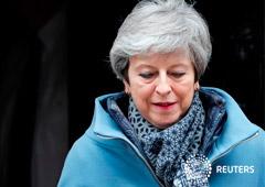 Noticias Principales 29 de marzo de 2019 / 7:59 / hace 4 horas May presenta una versión diluida del Brexit para asegurar una prórroga Por William James y Alistair Smout 3 MIN. DE LECTURA LONDRES (Reuters) - La primera ministra británica, Theresa May, ti