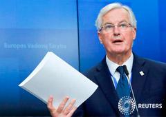 Noticias Principales 29 de noviembre de 2018 / 11:04 / hace un día Barnier dice a Reino Unido que el acuerdo para el Brexit sobre la mesa es el único posible 2 MIN. DE LECTURA El negociador principal para el Brexit de la Unión Europea, Michel Barnier, a