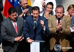 Noticias Principales 5 de febrero de 2019 / 8:24 / hace 31 minutos Venezuela mira con lupa a los países europeos que respaldan a Guaidó Por Ana Isabel Martinez, Angus Berwick y Vivian Sequera 8 MIN. DE LECTURA CARACAS (Reuters) - Casi dos docenas de paí