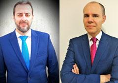 José Antonio Sanz y Ramón Pérez, coautores de 'Seguridad y salud en construcción' (Thomson Reuters Aranzadi)