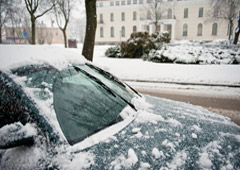 Imagen de una nevada