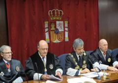 Joaquín Galve toma posesión de su segundo mandato como presidente del Tribunal Superior de Navarra
