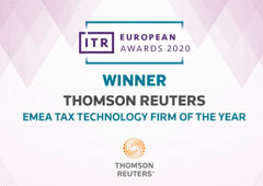 Thomson Reuters, Tax Technology Firm of the Year