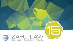 Zafo Law SLP ha celebrado 15 años de la apertura de su oficina en Barcelona