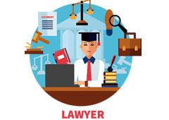 Concepto de abogado experto