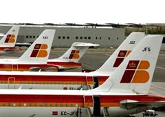 Iberia aviones