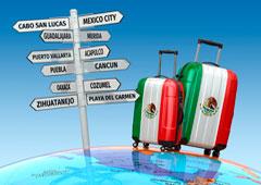 Maletas y señalización lo que visitar en México