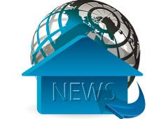 Bola del mundo y palabra news