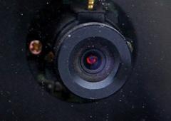 Un objetivo de una cámara