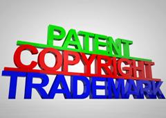 Palabras Patent, Copyright y Trademark