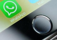 Imagen del icono de whatsapp en un teléfono