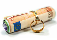 Dinero y anillos