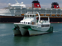 Un buque de carga