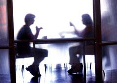 Encuentro privado entre dos personas