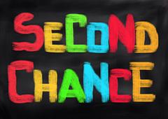 Palabras Second Chance en colores
