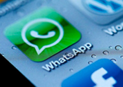Símbolo de WhatsApp